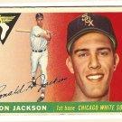 1955 Topps baseball card #66 (B) Ron Jackson VG Chicago White Sox