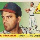 1955 Topps baseball card #89 (C) Joe Frazier good St. Louis Cardinals