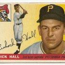 1955 Topps baseball card #126 (B) Dick Hall VG Pittsburgh Pirates