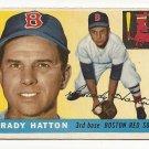1955 Topps baseball card #131 (B) Grady Hatton EX Boston Red Sox