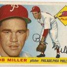 1955 Topps baseball card #157 Bob Miller VG/EX Philadelphia Phillies