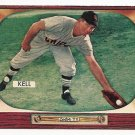 1955 Bowman baseball card #213 (C) George Kell EX