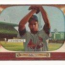 1955 Bowman baseball card #75 Brooks Lawrence - good