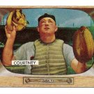 1955 Bowman baseball card #34 Clint Courtney VG