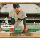 1955 Bowman baseball card #45 (C) Tom Umphlett EX/NM