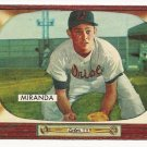 1955 Bowman baseball card #79 Willie Miranda NM