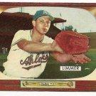 1955 Bowman baseball card #80 Lou Limmer EX