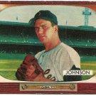 1955 Bowman baseball card #101 Don Johnson EX
