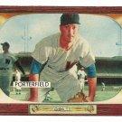 1955 Bowman baseball card #104 (C) Bob Porterfield EX