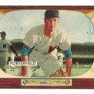 1955 Bowman baseball card #104 (D) Bob Porterfield EX/NM