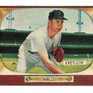 1955 Bowman baseball card #108 (B) Lou Kretlow NM