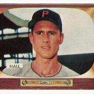 1955 Bowman baseball card #113 Bob Hall EX/NM