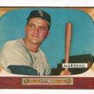 1955 Bowman baseball card #131 (B) Willard Marshall EX