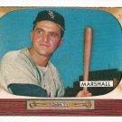 1955 Bowman baseball card #131 (D) Willard Marshall VG
