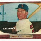 1955 Bowman baseball card #135 (E) Lloyd Merriman EX/NM