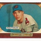 1955 Bowman baseball card #144 (C) Art Houtteman EX