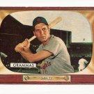 1955 Bowman baseball card #186 (B) Alex Grammas - good