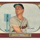 1955 Bowman baseball card #203 (C) Steve Gromek EX/NM