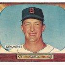 1955 Bowman baseball card #222 (E) Russ Kemmerer EX
