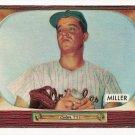 1955 Bowman baseball card #245 Bill Miller G/VG
