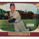 1955 Bowman baseball card #230 Al Brazle NM
