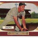 1955 Bowman baseball card #285 (B) Walt Dropo VG/EX
