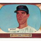 1955 Bowman baseball card #312 (C) Bill Wight VG+