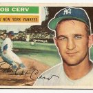 1956 Topps baseball card #288 Bob Cerv VG New York Yankees