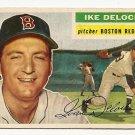 1956 Topps baseball card #284 (B) Ike DeLock VG Boston Red Sox