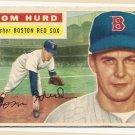 1956 Topps baseball card #256 Tom Hurd VG- Boston Red Sox