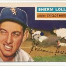 1956 Topps baseball card #243 (C) Sherm Lollar good (tape mark on back) Chicago White Sox