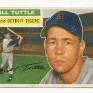 1956 Topps baseball card #203 Bill Tuttle VG Detroit Tigers