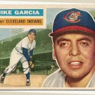 1956 Topps baseball card #210 VG Mike Garcia Cleveland Indians