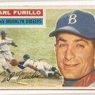 1956 Topps baseball card #190 (B) Carl Furillo VG/EX Brooklyn Dodgers
