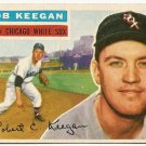 1956 Topps baseball card #54 Bob Keegan EX Chicago White Sox