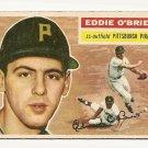1956 Topps baseball card #116 Eddie O'Brien Vg Pittsburgh Pirates