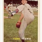1957 Topps baseball card #247 Turk Lown VG