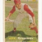 1957 Topps baseball card #222 Alex Grammas G/VG