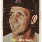 1957 Topps baseball card #239 Tom Morgan VG