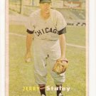 1957 Topps baseball card #227 Jerry Staley VG+
