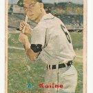 1957 Topps baseball card #125 Al Kaline F/G