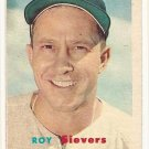 1957 Topps baseball card #89 Roy Sievers VG