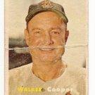 1957 Topps baseball card #380 (B) Walker Cooper P/F