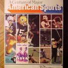 A Century of Major American Sports softcover book - Boxing, Golf, football, much more