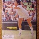 Sports Illustrated magazine July 12, 1982 Tennis, Wimbledon champ Jimmy Conners
