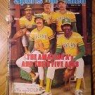 Sports Illustrated magazine April 27, 1981 MLB baseball, Oakland A's pitching line-up