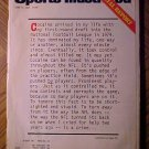 Sports Illustrated magazine June 14, 1982 Cocaine, drug use in sports