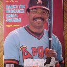 Sports Illustrated magazine March 15, 1982 Reggie Jackson, California Angeld