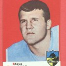 1969 Topps football card #129 (C) Steve DeLong EX/NM San Diego Chargers
