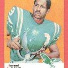 1969 Topps football card #107 Israel Lang EX Philadelphia eagles